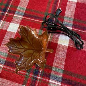 Scentsy Maple Leaf Warmer EUC 🍁